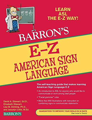 E-Z American Sign Language (Barron